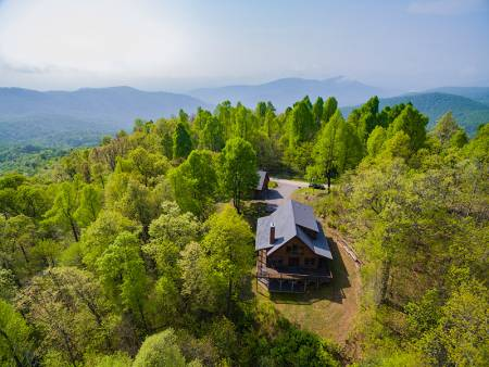 Greybeard Asheville Area Rental Home