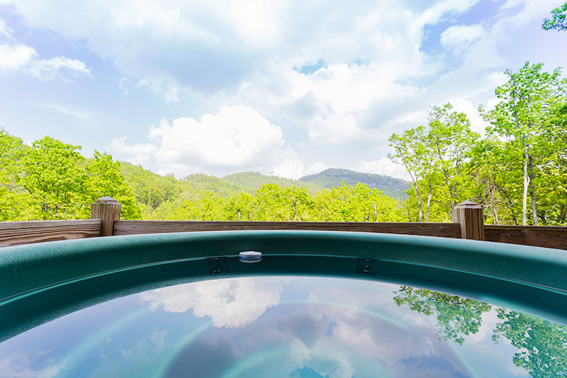 Hot Tub Views From Kitty's Cabin